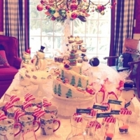 Christmas Party {Ladies Night, Frosty Style!}