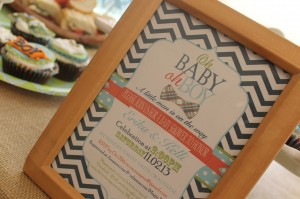 "NEW! ""Little Man"" Baby Shower!"