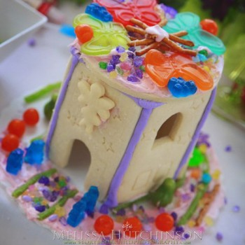 Princess, Pirate, & Fairy House Cookie House Decorating